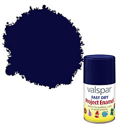 Valspar Fast Dry Night Blue Satin Enamel Spray