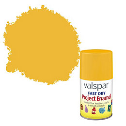 Valspar Fast Dry Sunshine Yellow Satin Enamel Spray