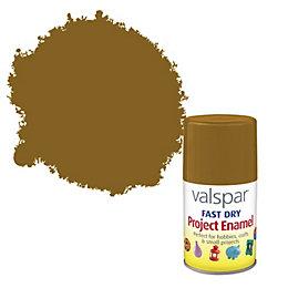 Valspar Fast Dry Nut Brown Satin Enamel Spray