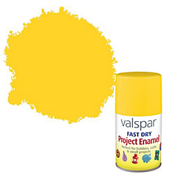 Valspar Buttercup Yellow Satin Enamel Spray Paint 100