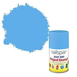 Valspar Sky Blue Satin Enamel Spray Paint 100
