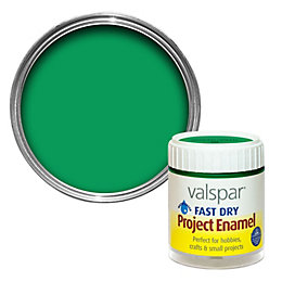 Valspar Garden Green Satin Enamel Paint 59 ml