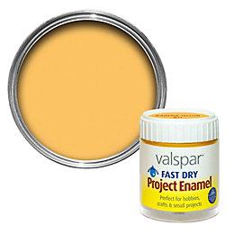 Valspar Sunshine Yellow Satin Enamel Paint 59 ml