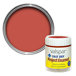 Valspar Insignia Red Satin Enamel Paint 59 ml
