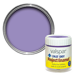 Valspar Fast Dry Lavender Satin Enamel Paint 59ml