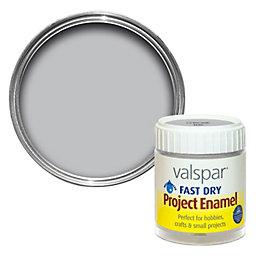 Valspar Fast Dry Silver Enamel Paint 59 ml