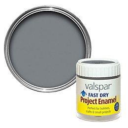 Valspar Pewter Metallic Enamel Paint 59 ml