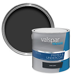 Valspar Trade Dark Grey Smooth Matt Primer 2.5L