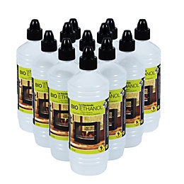 La Hacienda Fireplace Fuel 1L, Pack of 12