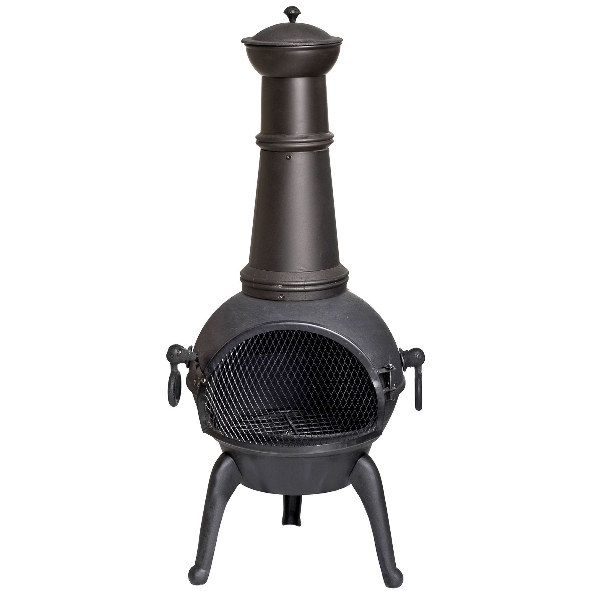 Cuba Cast Iron Chimenea Departments