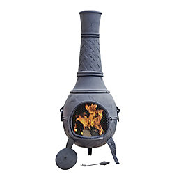 CAST IRON MEGA CHIMENEA