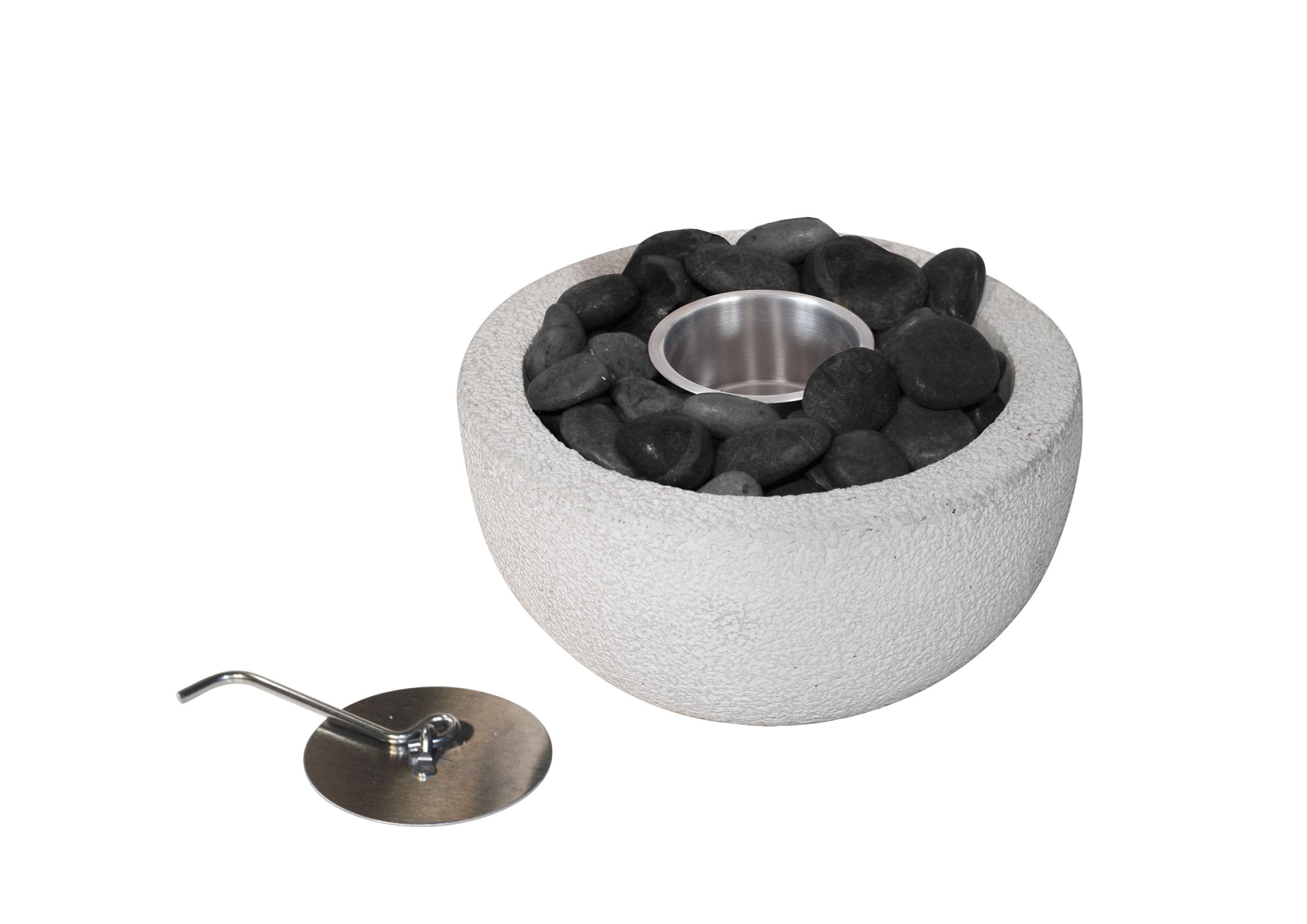 la hacienda punta stainless steel u0026 concrete gel burner