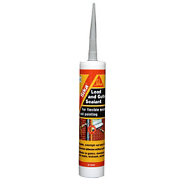 Sika Lead Grey Flexible Roof & Gutter Sealant