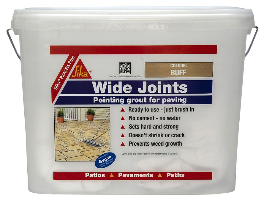 Sika Pave Fix Plus Ready To Use Grout 10kg Plastic Tub | Departments | DIY  At Bu0026Q