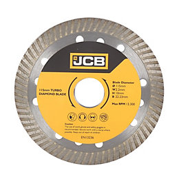 JCB Turbo (Dia)115mm Diamond Blade