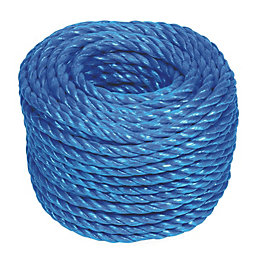 4Trade Hardwearing Polypropylene Stranded Rope 8mm x 30m