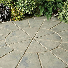Rustic Sage Minster Circle Kit (L)1.8 (W)1.8m Pack