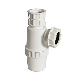 Floplast Telescopic Waste Bottle Trap (Dia)32mm