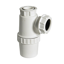 Floplast Antivac Waste Bottle Trap (Dia)40mm