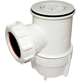 Floplast Shower Waste Trap (Dia)50mm