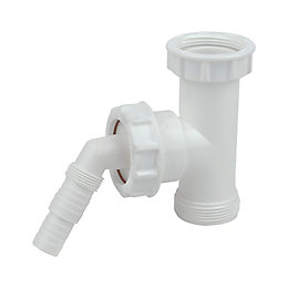 Floplast Appliance Waste Trap Adaptor (Dia)40mm