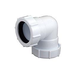 Floplast Compression Universal Waste Bend (Dia)32mm, White