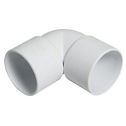 Floplast ABS Solvent Weld Waste Bend (Dia)32mm, White