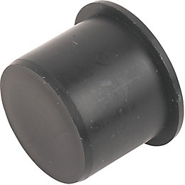 Floplast Push Fit Waste Access Plug (Dia)32mm, Black