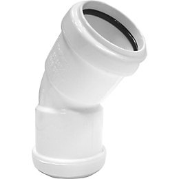 Floplast Push Fit Waste Pipe (Dia)32mm, White