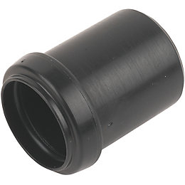 Floplast Push Fit Waste Reducer (Dia)40mm, Black