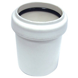 Floplast Push Fit Waste Reducer (Dia)40mm, White
