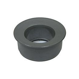 Floplast Round Rainwater Reducer (Dia)110/68mm, Grey