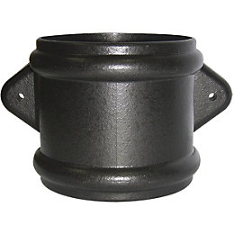 Floplast Ring Seal Soil Coupling (Dia)110mm, Cast Iron