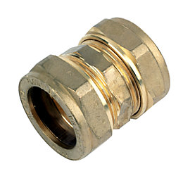 Plumbsure Compression Straight Coupler (Dia)28mm