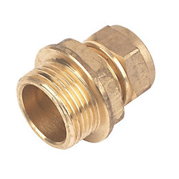 Compression Coupler (Dia)15 mm x ¾ In