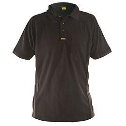 DeWalt Black Polo Shirt Large