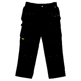 "DeWalt Pro Black Work Trousers W34"" L31"""