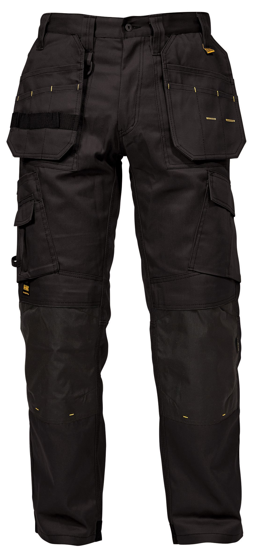 "DeWalt Pro Expert Work Trousers Charcoal Grey / Black 32"" W 31"" L ..."