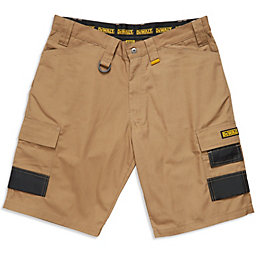"DeWalt Ripstop Beige Shorts W32"""
