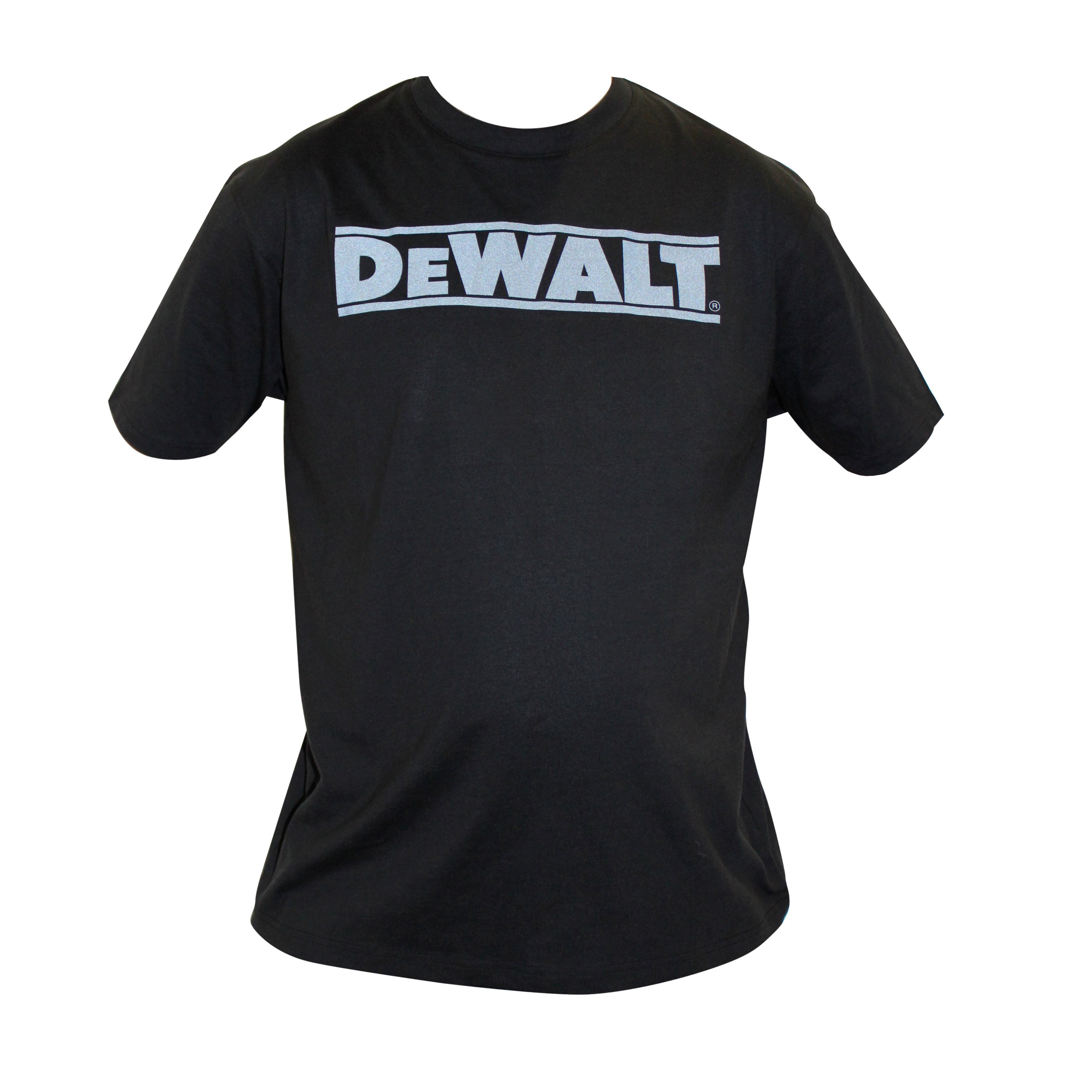 Black t shirt large - Dewalt Black Oxide T Shirt Large