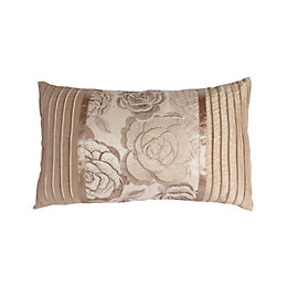 Chartwell Rosa Floral Gold Cushion