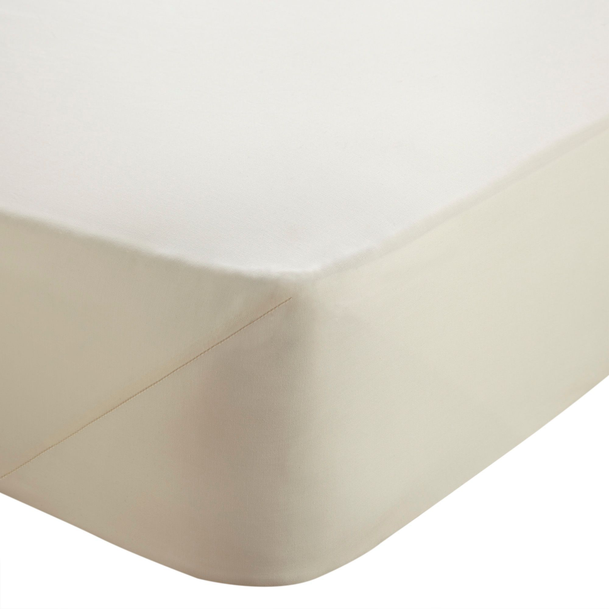Chartwell Cream Single Fitted Sheet