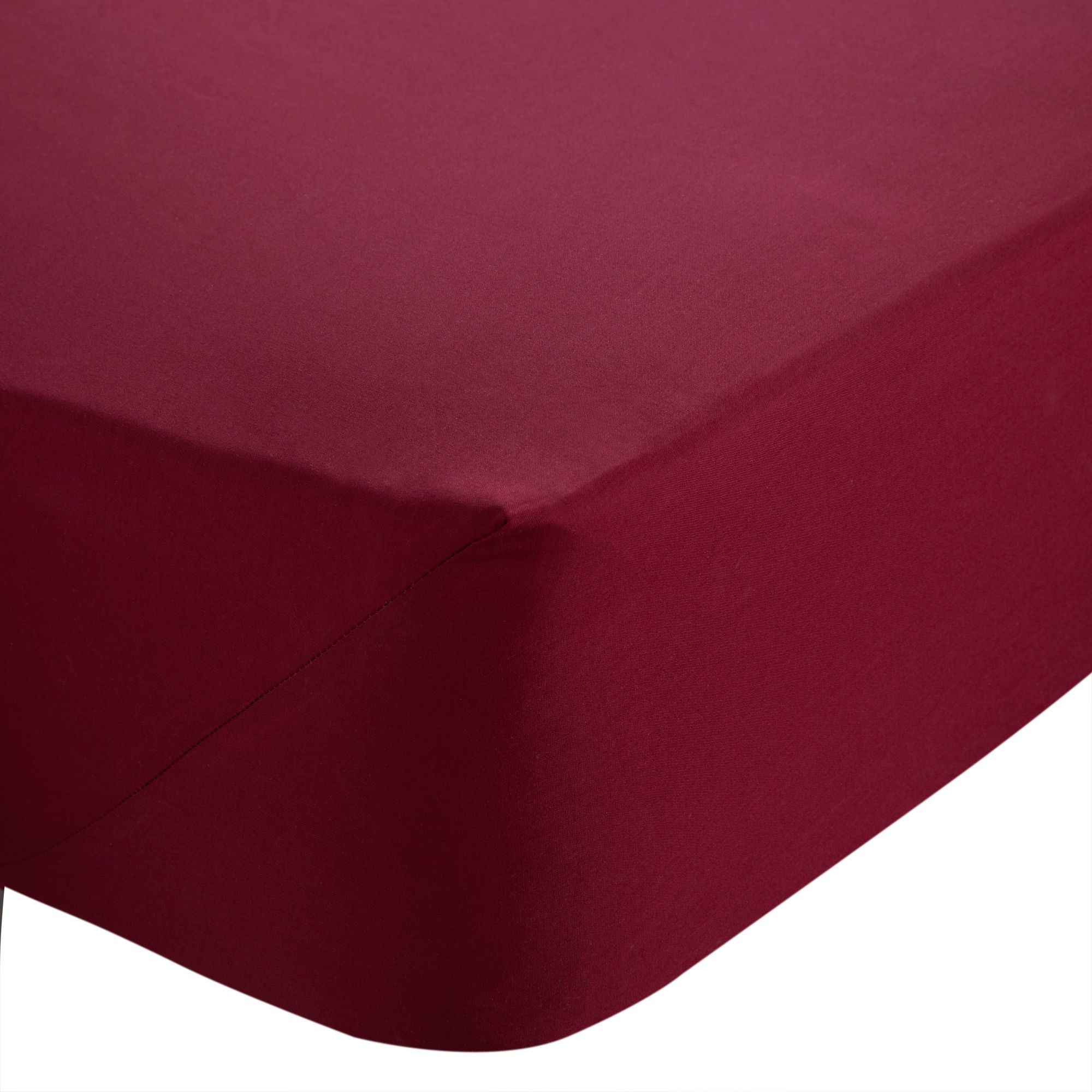Chartwell Claret King Size Fitted Sheet