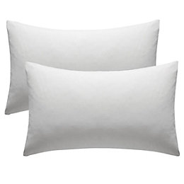 Chartwell Plain Housewife White Pillow Case, Pack of