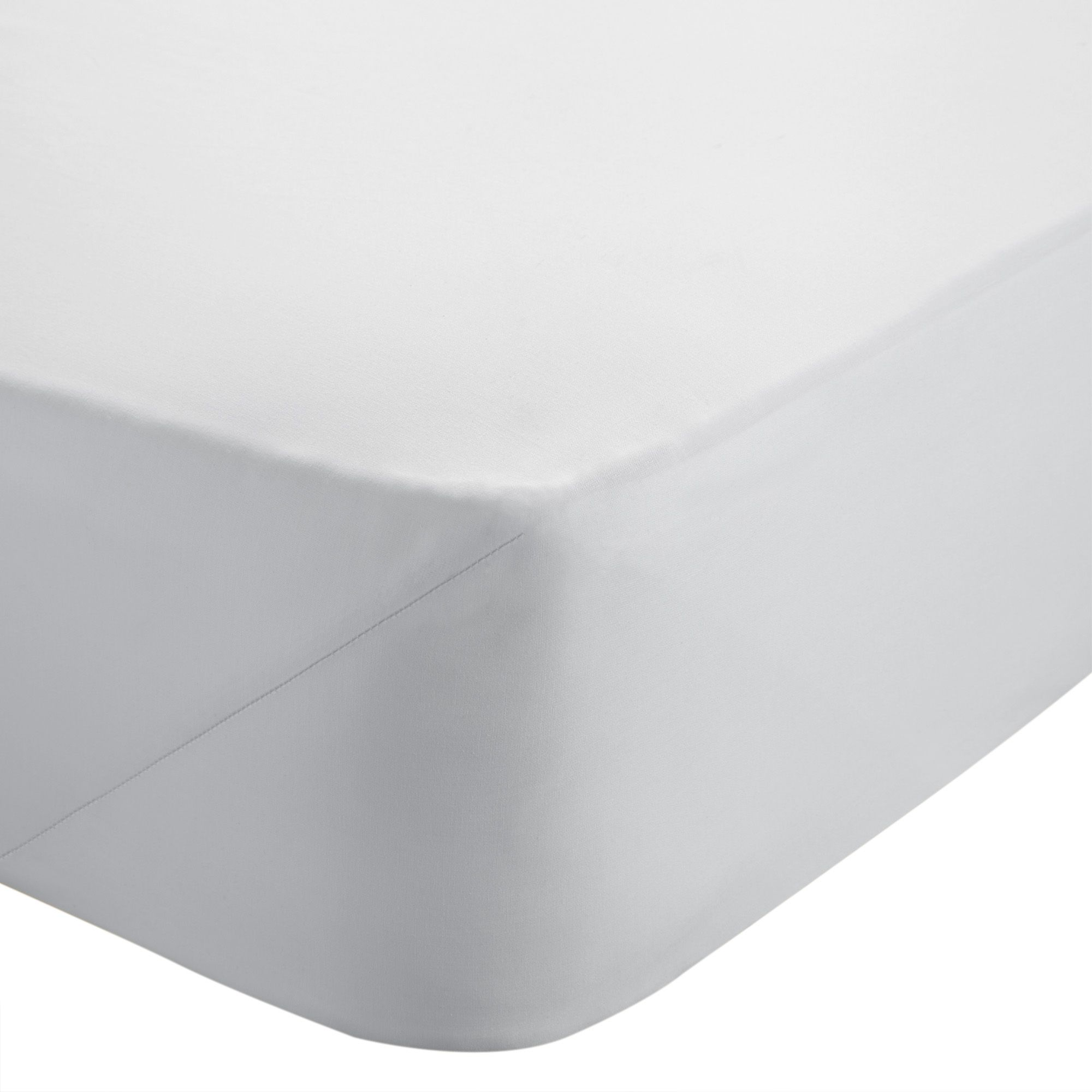 Chartwell White King Size Fitted Sheet