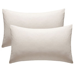 Chartwell Plain Housewife Cream Pillow Case, Pack of
