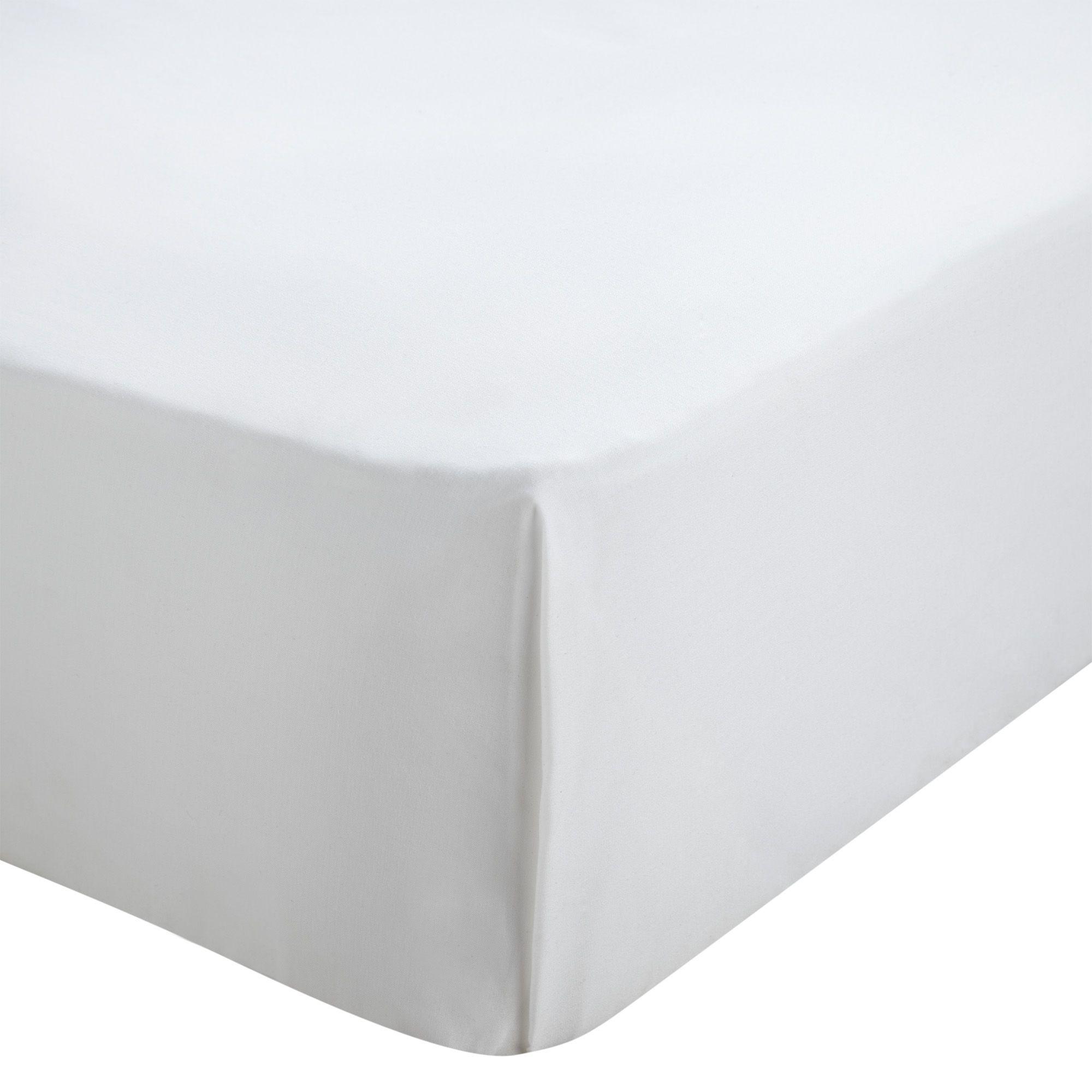 Chartwell White King Size Flat Sheet