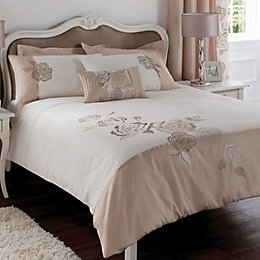 Chartwell Rosa Floral Pink & White Kingsize Bed
