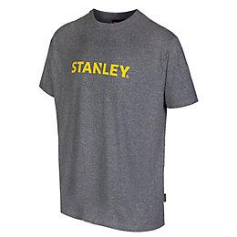 Stanley Grey Marl Lyon T-Shirt Large
