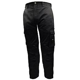 """Stanley Phoenix Black Work Trousers W30"""" L31"""""""